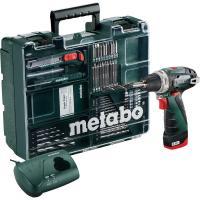 Шурупокрут акумуляторний Metabo PowerMaxx BS Basic Set (Mobile Workshop)