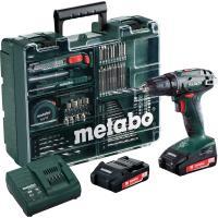 Шурупокрут акумуляторний Metabo BS 18 Set (Mobile Workshop)