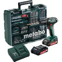 Шурупокрут ударний акумуляторний Metabo SB 18 Set (Mobile Workshop)