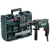 Дриль ударний Metabo SBE 650 Set (Mobile Workshop)
