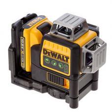 Лазер самовирівнювальний 3-х площинний DeWALT DCE089D1G